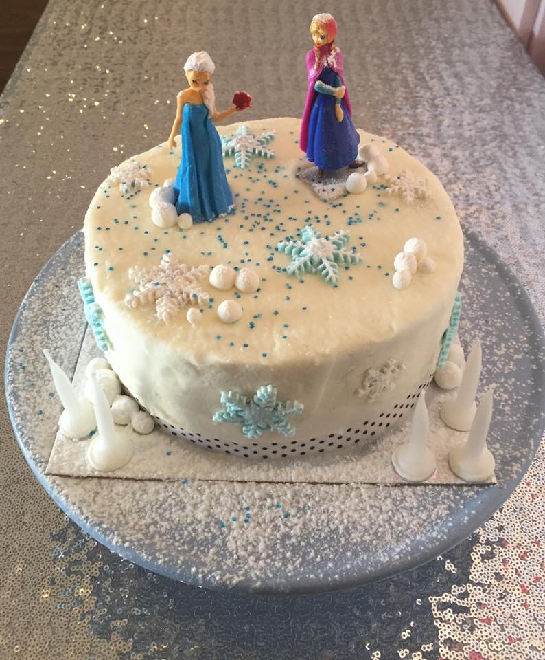 Frozen Cake Topper Singapore