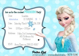 Frozen Elsa Party