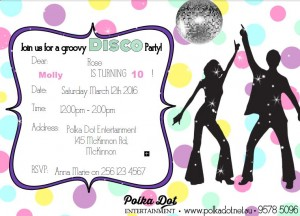 Girls Disco Party
