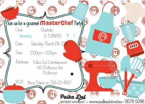 Masterchef Cooking Party