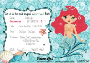 Mermaid Ariel Party