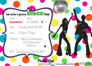 Neon Disco Party Image