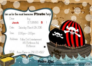 Boys Pirate Party